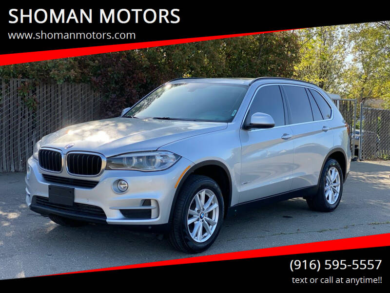 2015 BMW X5 for sale at SHOMAN AUTO GROUP in Davis CA