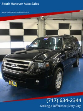 2012 Ford Expedition EL for sale at South Hanover Auto Sales in Hanover PA