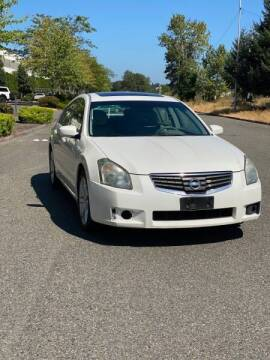 2007 Nissan Maxima for sale at Washington Auto Sales in Tacoma WA