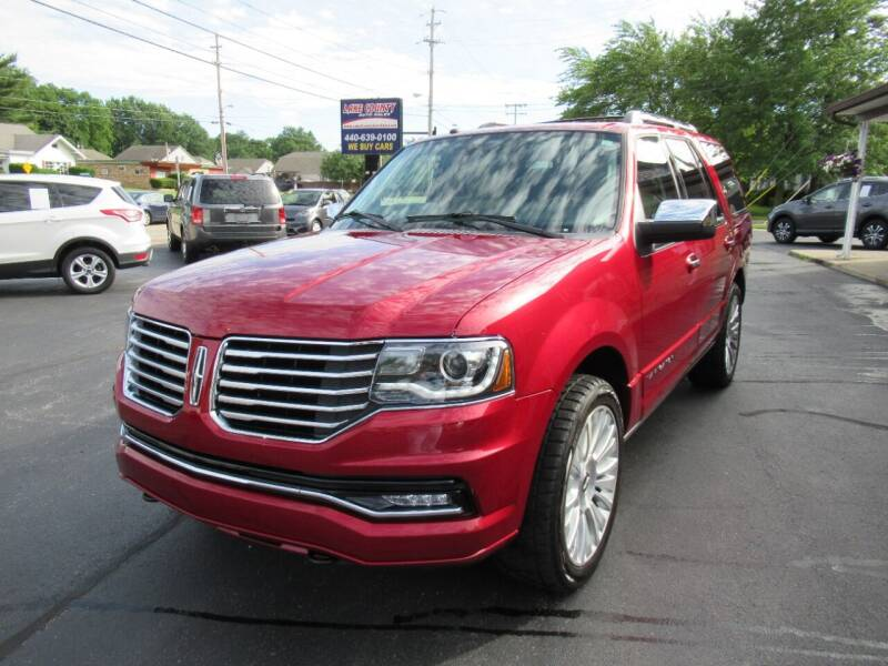 2016 Lincoln Navigator for sale at Lake County Auto Sales in Painesville OH