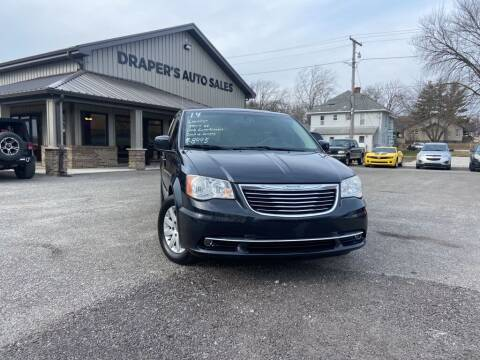 2014 Chrysler Town and Country for sale at Drapers Auto Sales in Peru IN