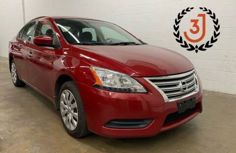 2013 Nissan Sentra for sale at 3 J Auto Sales Inc in Arlington Heights IL