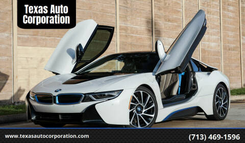 2015 BMW i8 for sale at Texas Auto Corporation in Houston TX