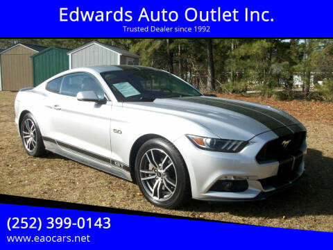 2016 Ford Mustang for sale at Edwards Auto Outlet Inc. in Wilson NC