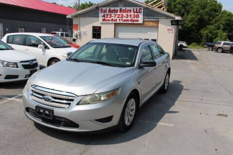 2010 Ford Taurus for sale at SAI Auto Sales - Used Cars in Johnson City TN