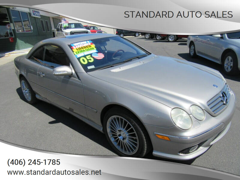 2005 Mercedes-Benz CL-Class for sale at Standard Auto Sales in Billings MT