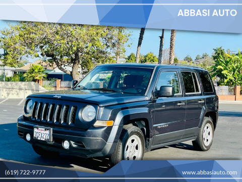 2014 Jeep Patriot for sale at Abbasi Auto in San Diego CA
