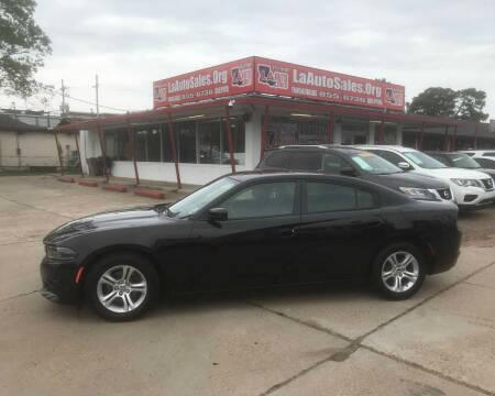 2019 Dodge Charger for sale at LA Auto Sales in Monroe LA