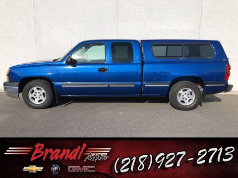 2003 Chevrolet Silverado 1500 for sale at Brandl GM in Aitkin MN
