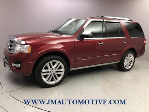 2015 Ford Expedition for sale at J & M Automotive in Naugatuck CT