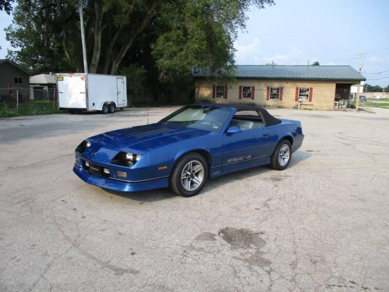 1987 Chevrolet Camaro for sale at RJ Motors in Plano IL