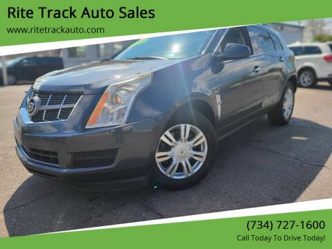 2010 Cadillac SRX for sale at Rite Track Auto Sales in Wayne MI