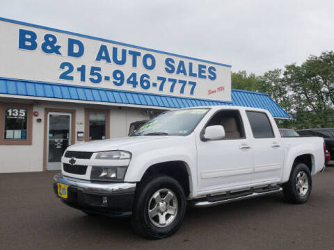 2012 Chevrolet Colorado for sale at B & D Auto Sales Inc. in Fairless Hills PA