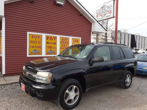 2007 Chevrolet TrailBlazer for sale at Mack's Autoworld in Toledo OH