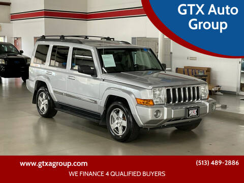 2010 Jeep Commander for sale at GTX Auto Group in West Chester OH