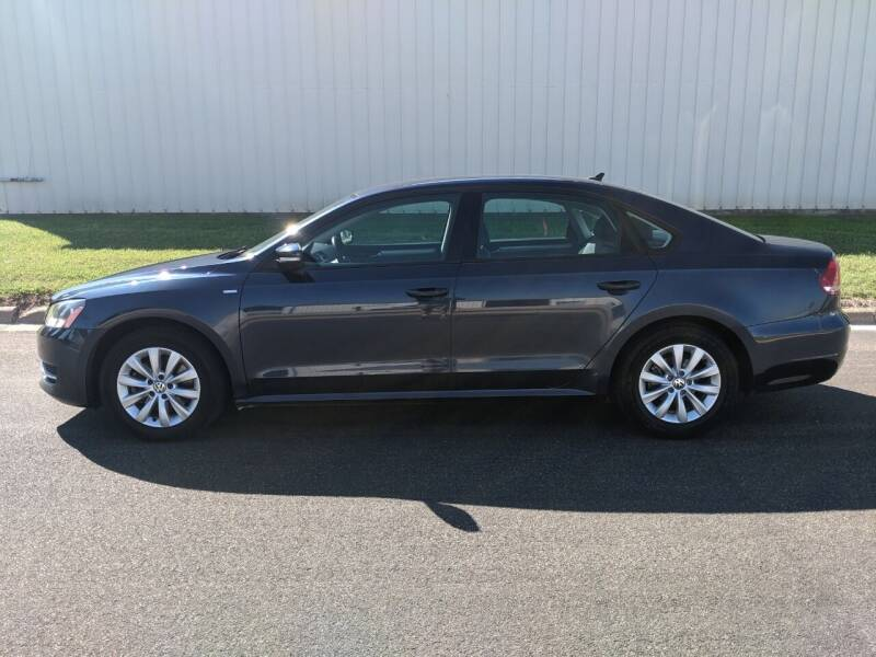 2015 Volkswagen Passat for sale at TNK Autos in Inman KS