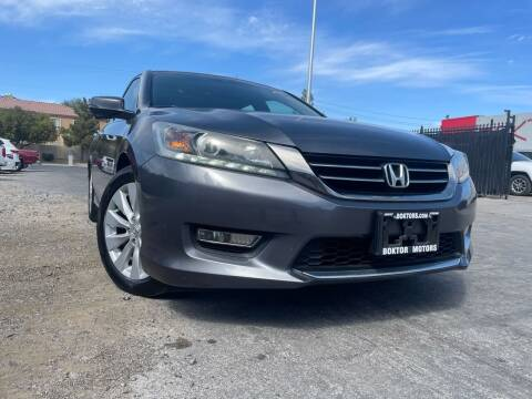 2013 Honda Accord for sale at Boktor Motors in Las Vegas NV