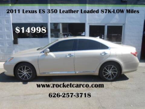 2011 Lexus ES 350 for sale at Rocket Car sales in Covina CA