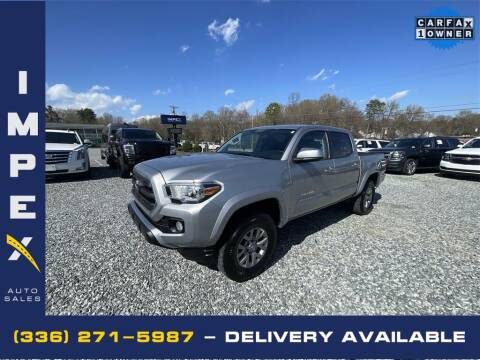 2017 Toyota Tacoma for sale at Impex Auto Sales in Greensboro NC