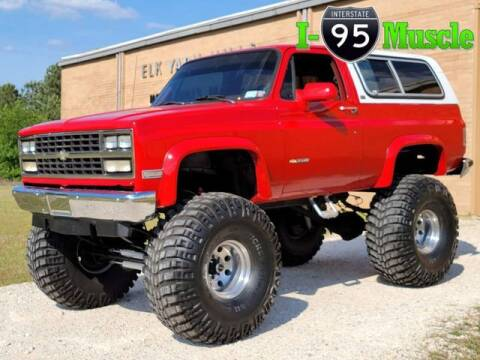 1991 Chevrolet Blazer for sale at I-95 Muscle in Hope Mills NC