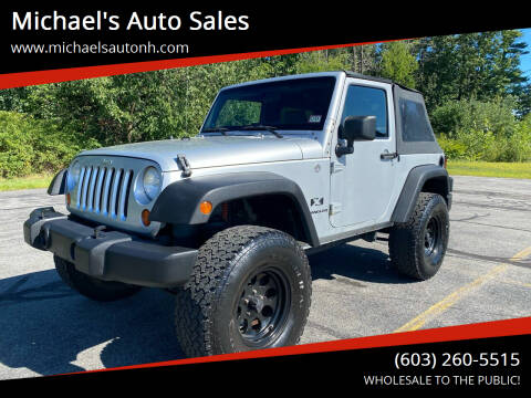 2008 Jeep Wrangler for sale at Michael's Auto Sales in Derry NH
