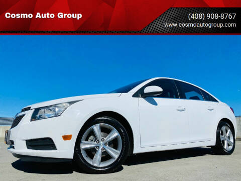 2013 Chevrolet Cruze for sale at Cosmo Auto Group in San Jose CA