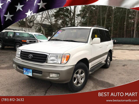 2002 Toyota Land Cruiser for sale at Best Auto Mart in Weymouth MA