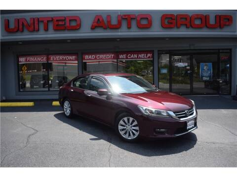 2014 Honda Accord for sale at United Auto Group in Putnam CT