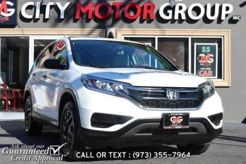 2016 Honda CR-V for sale at City Motor Group, Inc. in Wanaque NJ