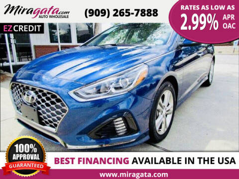 2019 Hyundai Elantra for sale at Miragata Auto in Bloomington CA