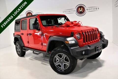 2018 Jeep Wrangler Unlimited for sale at Unlimited Motors in Fishers IN