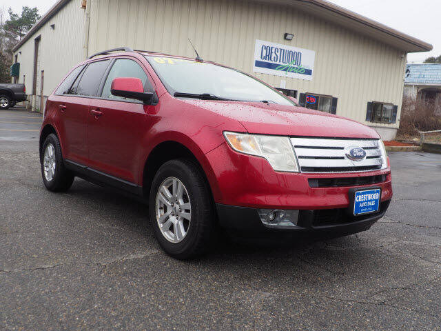 2007 Ford Edge for sale at Crestwood Auto Sales in Swansea MA