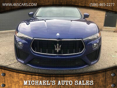 2019 Maserati Levante for sale at MICHAEL'S AUTO SALES in Mount Clemens MI