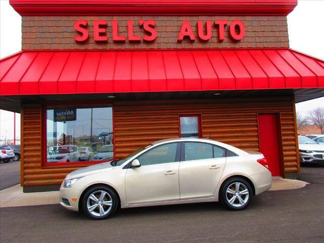 2012 Chevrolet Cruze for sale at Sells Auto INC in Saint Cloud MN