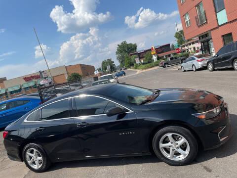 2018 Chevrolet Malibu for sale at Sanaa Auto Sales LLC in Denver CO