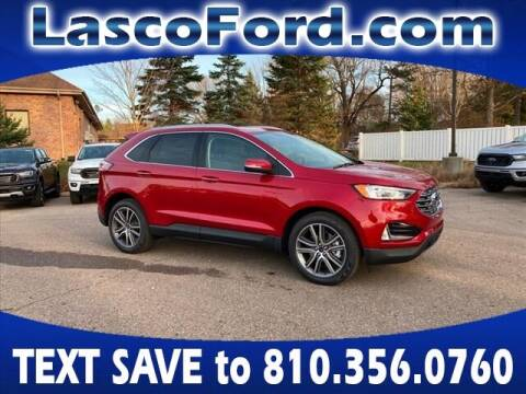 2020 Ford Edge for sale at LASCO FORD in Fenton MI