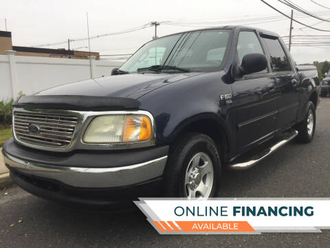 2003 Ford F-150 for sale at New Jersey Auto Wholesale Outlet in Union Beach NJ
