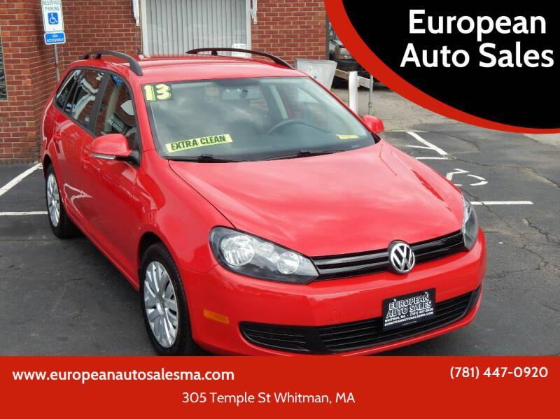 2013 Volkswagen Jetta for sale at European Auto Sales in Whitman MA