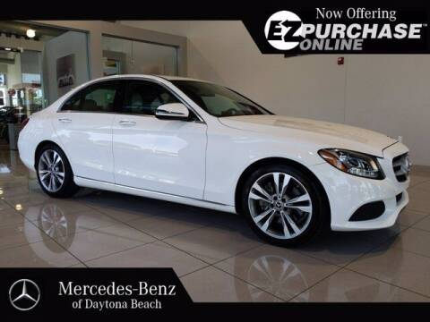 2018 Mercedes-Benz C-Class for sale at Mercedes-Benz of Daytona Beach in Daytona Beach FL