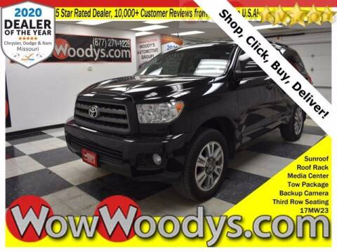 2017 Toyota Sequoia for sale at WOODY'S AUTOMOTIVE GROUP in Chillicothe MO