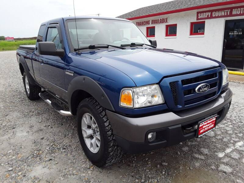 2007 Ford Ranger for sale at Sarpy County Motors in Springfield NE