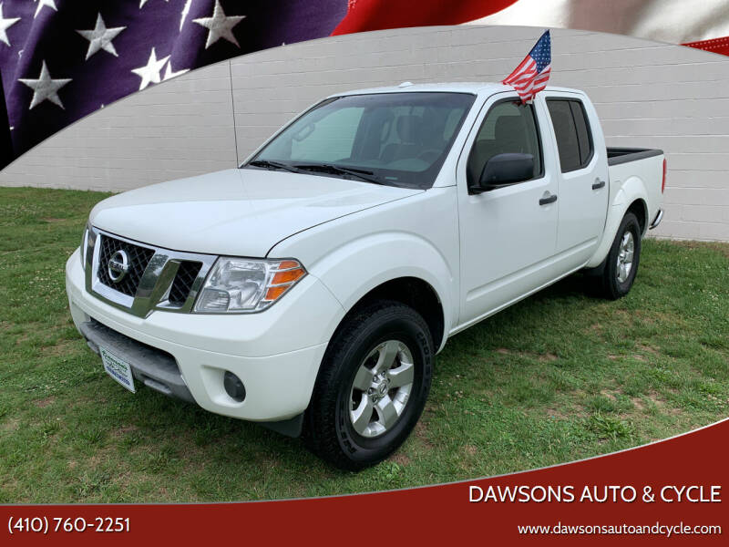 2013 Nissan Frontier for sale at Dawsons Auto & Cycle in Glen Burnie MD