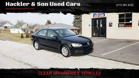 2012 Volkswagen Jetta for sale at Hackler & Son Used Cars in Red Lion PA