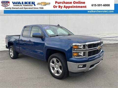 2015 Chevrolet Silverado 1500 for sale at WALKER CHEVROLET in Franklin TN