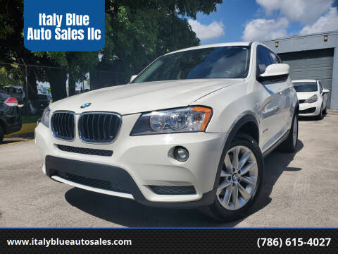 2014 BMW X3 for sale at Italy Blue Auto Sales llc in Miami FL
