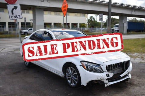 2017 Mercedes-Benz C-Class for sale at ELITE MOTOR CARS OF MIAMI in Miami FL