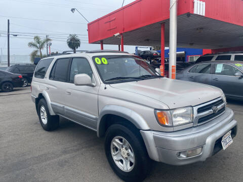 2000 Toyota 4Runner for sale at North County Auto in Oceanside CA