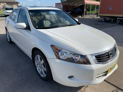 2008 Honda Accord for sale at JAVY AUTO SALES in Houston TX
