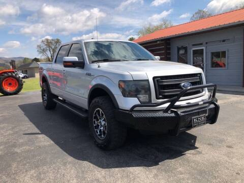 2013 Ford F-150 for sale at KNK AUTOMOTIVE in Erwin TN