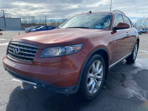 2007 Infiniti FX45 for sale at MFT Auction in Lodi NJ
